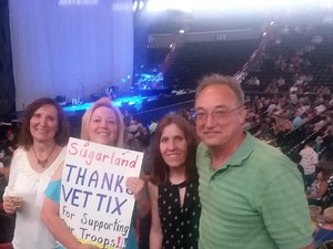 Arlene attended Sugarland: Still the Same Tour With Brandy Clark and Clare Bowen on Jun 8th 2018 via VetTix