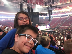 Christopher attended Live Nation Presents Journey / Def Leppard - Pop on Jun 5th 2018 via VetTix