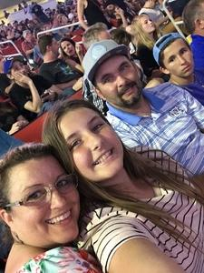 Anthony attended Live Nation Presents Journey / Def Leppard - Pop on Jun 5th 2018 via VetTix