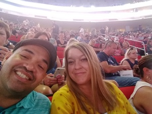 Cruz Family attended Live Nation Presents Journey / Def Leppard - Pop on Jun 5th 2018 via VetTix