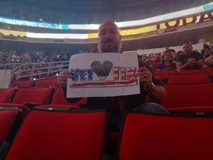 Marshall attended Live Nation Presents Journey / Def Leppard - Pop on Jun 5th 2018 via VetTix