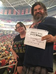 Michael attended Live Nation Presents Journey / Def Leppard - Pop on Jun 5th 2018 via VetTix