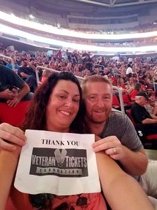 Harry attended Live Nation Presents Journey / Def Leppard - Pop on Jun 5th 2018 via VetTix