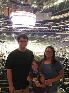 Glenn attended Los Angeles Sparks vs. Minnesota Lynx - WNBA on Jun 3rd 2018 via VetTix