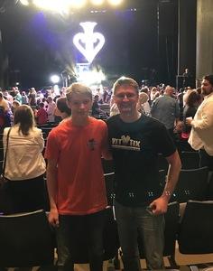 Joel attended David Blaine Live on Jun 3rd 2018 via VetTix