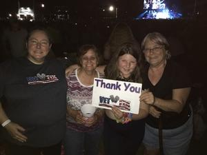 Jandy attended Toby Keith - Should've Been a Cowboy 2018 - Country on Jun 9th 2018 via VetTix
