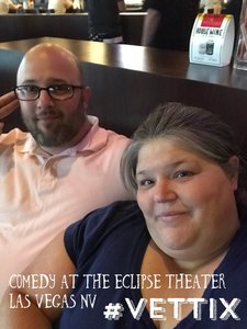 Zwieba attended Comedy at the Eclipse Theater on Jun 13th 2018 via VetTix