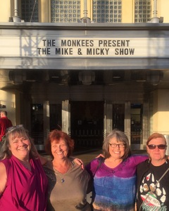 Jennifer attended The Monkees Present the Mike & Micky Show on Jun 5th 2018 via VetTix