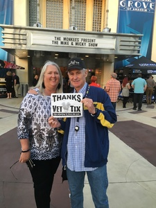 William attended The Monkees Present the Mike & Micky Show on Jun 5th 2018 via VetTix