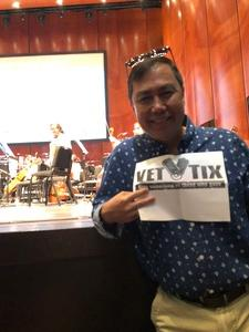 Joshua attended Rodgers and Hammerstein Celebration - Presented by the San Antonio Symphony on Jun 10th 2018 via VetTix