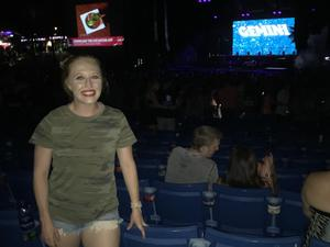 Jenniffer attended The Adventures of Kesha and Macklemore on Jun 6th 2018 via VetTix