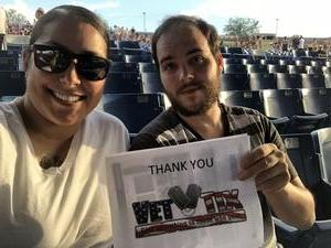 Emilia attended The Adventures of Kesha and Macklemore on Jun 6th 2018 via VetTix