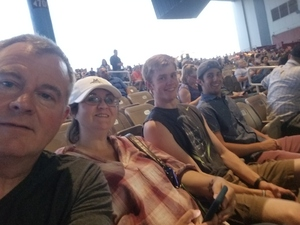 William attended Rascal Flatts Back to US Tour on Jun 8th 2018 via VetTix
