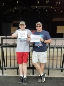 Matthew attended Rascal Flatts Back to US Tour on Jun 8th 2018 via VetTix