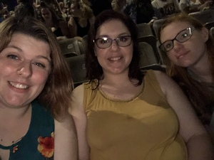 Sarah attended Rascal Flatts Back to US Tour on Jun 8th 2018 via VetTix