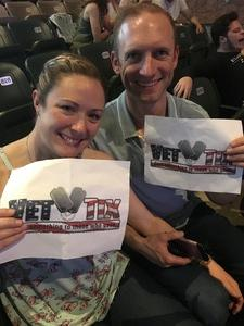 Jason attended Rascal Flatts Back to US Tour on Jun 8th 2018 via VetTix
