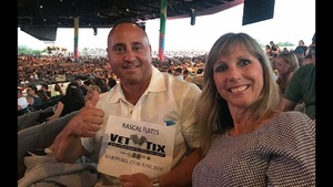 Joseph attended Rascal Flatts Back to US Tour on Jun 8th 2018 via VetTix