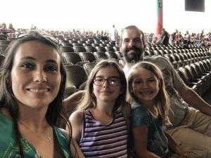Mustion Family attended Rascal Flatts Back to US Tour on Jun 8th 2018 via VetTix