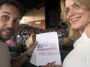 Bert attended Rascal Flatts Back to US Tour on Jun 8th 2018 via VetTix