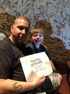 Jason attended David Blaine Love on Jun 5th 2018 via VetTix