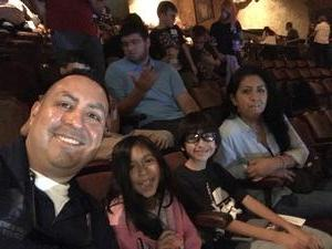 Armando attended David Blaine Love on Jun 5th 2018 via VetTix