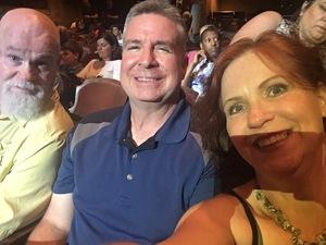 Frank attended David Blaine Love on Jun 5th 2018 via VetTix