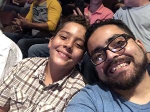 Fernando attended David Blaine Love on Jun 5th 2018 via VetTix