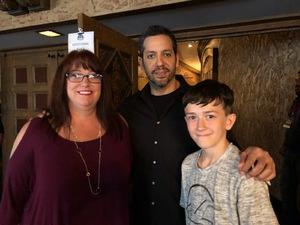 Valarie attended David Blaine Love on Jun 5th 2018 via VetTix