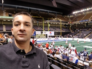 Nicolas attended Baltimore Brigade vs. Washington Valor - AFL on Jun 15th 2018 via VetTix
