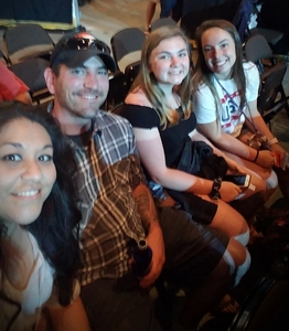 Tammie attended Soul2Soul With Faith Hill and Tim McGraw on Jun 16th 2018 via VetTix