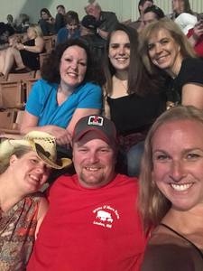 Christy attended Soul2Soul With Faith Hill and Tim McGraw on Jun 16th 2018 via VetTix