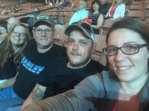 Robert attended Soul2Soul With Faith Hill and Tim McGraw on Jun 16th 2018 via VetTix