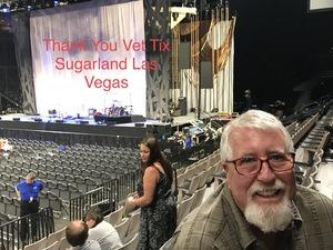 Dale attended Sugarland on Jun 16th 2018 via VetTix