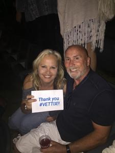 Donna attended Sugarland on Jun 16th 2018 via VetTix