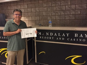 Larry attended Sugarland on Jun 16th 2018 via VetTix