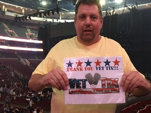 William attended Def Leppard/journey on Jun 11th 2018 via VetTix