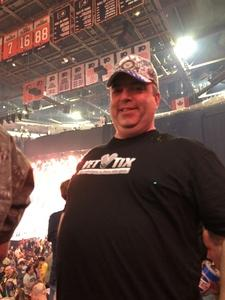 patrick attended Def Leppard/journey on Jun 11th 2018 via VetTix