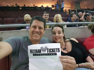 Walter attended Def Leppard/journey on Jun 11th 2018 via VetTix