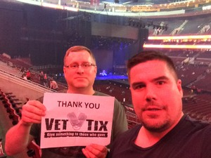 Darren attended Def Leppard/journey on Jun 11th 2018 via VetTix