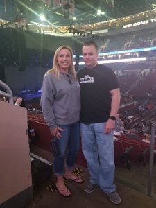 Brian attended Def Leppard/journey on Jun 11th 2018 via VetTix