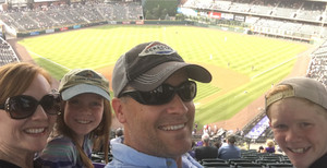 Joel attended Colorado Rockies vs. San Francisco Giants - MLB on Jul 2nd 2018 via VetTix