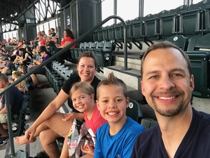 Michelle attended Colorado Rockies vs. San Francisco Giants - MLB on Jul 2nd 2018 via VetTix
