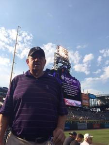 Clarence attended Colorado Rockies vs. San Francisco Giants - MLB on Jul 2nd 2018 via VetTix