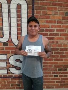 Antonio attended Colorado Rockies vs. San Francisco Giants - MLB on Jul 2nd 2018 via VetTix