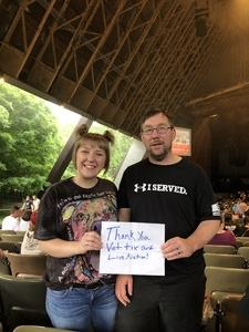Mark attended Poison With Special Guests Cheap Trick and Pop Evil on Jun 12th 2018 via VetTix