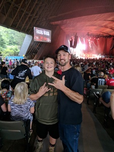 Matthew attended Poison With Special Guests Cheap Trick and Pop Evil on Jun 12th 2018 via VetTix