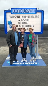 Jorge attended Chicago and Reo Speedwagon Live on Jun 16th 2018 via VetTix