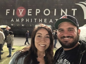 Amanda attended Chicago and Reo Speedwagon Live on Jun 16th 2018 via VetTix