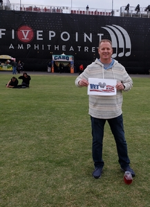 Chris Daughtry attended Chicago and Reo Speedwagon Live on Jun 16th 2018 via VetTix