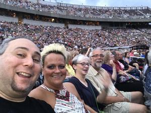 LANCE attended Foreigner With Special Guest Whitesnake and Jason Bonham's LED Zeppelin on Jun 22nd 2018 via VetTix